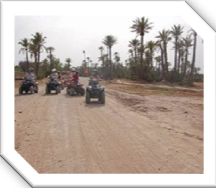 Quad biking, Marrakech